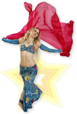 belly dancer Amara