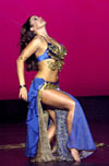 belly dancer Aziza