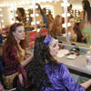 belly dancer dressing room
