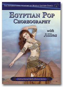 Jillina belly dance instructional DVD
