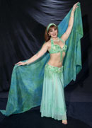 belly dancer Gina