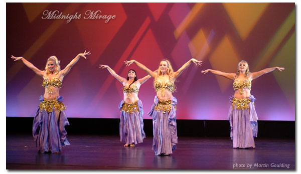 Belly Dance Troupe Midnight Mirage