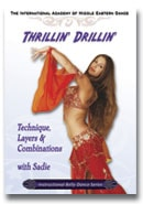 Sadie belly dance DVD