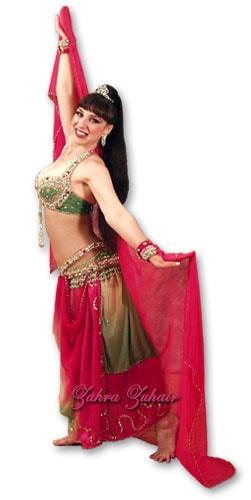 Egyptian Style Bellydancer Zahra Zuhair