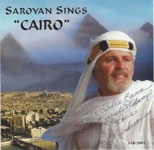Harry Saroyan Cairo CD